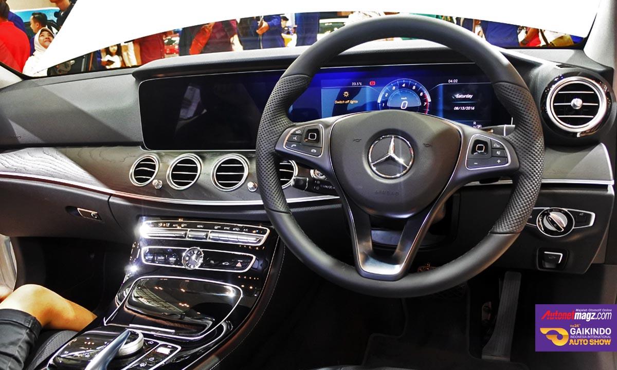 Mercedes Benz Bawa Lini AMG dan EClass W213 di GIIAS 2016