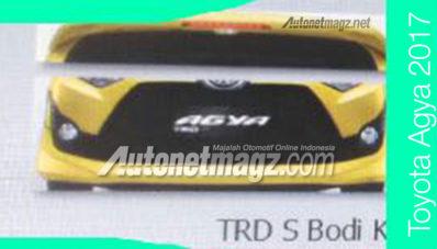 toyota new agya trd 2017 all camry thailand bocoran – daihatsu ayla facelift, menggiurkan ...