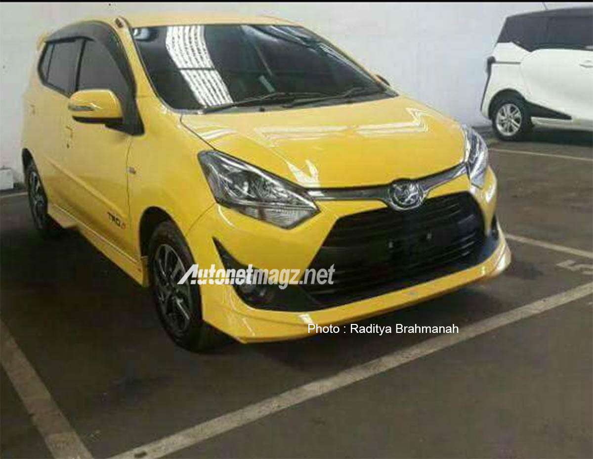 toyota new agya trd 2017 jual all corolla altis facelift depan spy shot  autonetmagz