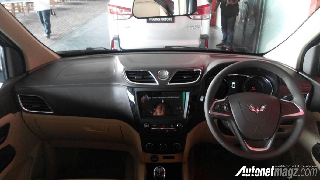 dashboard wuling confero s  AutonetMagz  Review Mobil