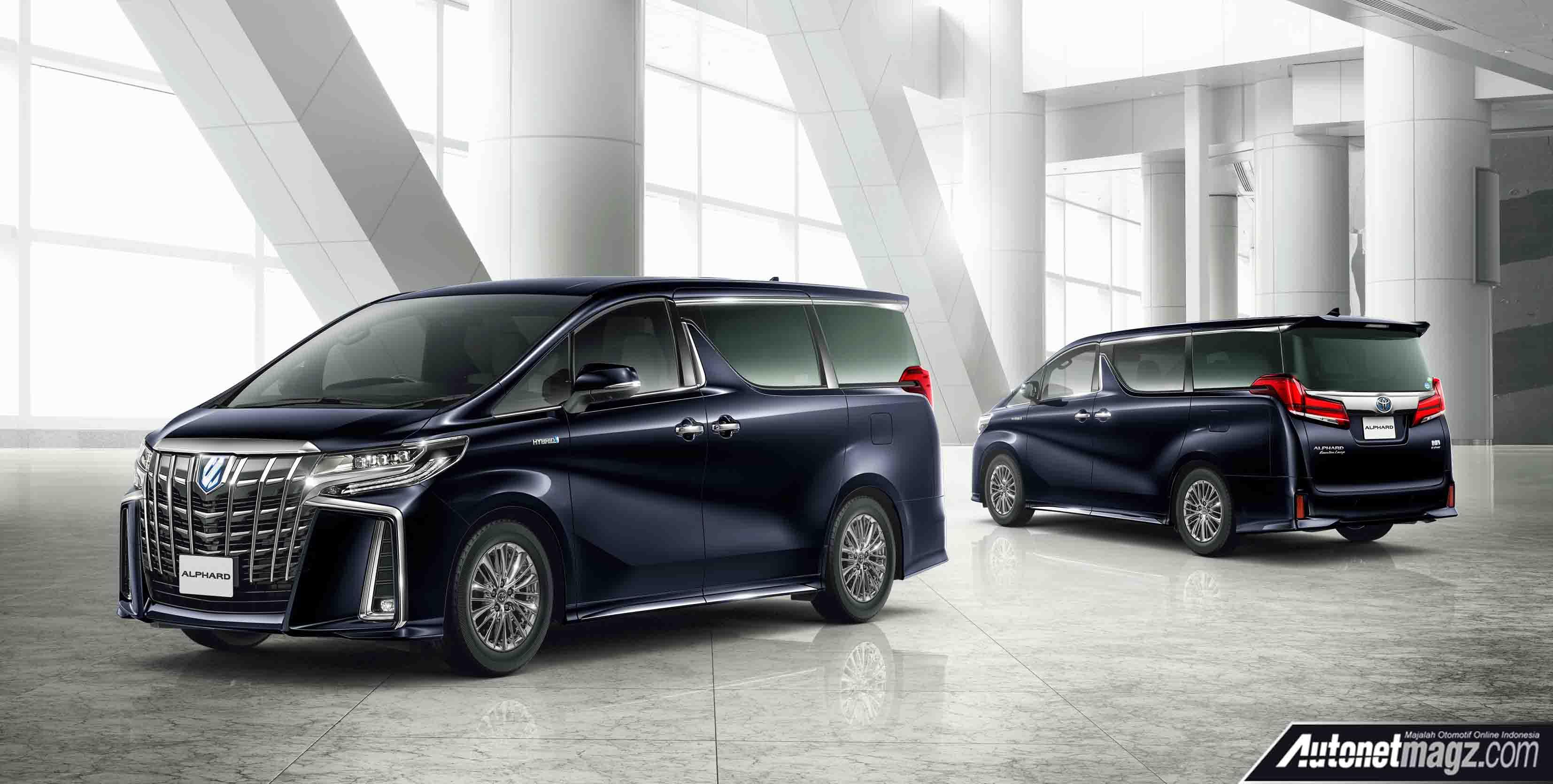 all new toyota vellfire 2018 grand avanza alphard facelift  autonetmagz review mobil