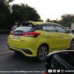 Bodykit All New Yaris Trd Camry Singapore Toyota Sportivo 2018 Punya Baru Ini Sisi Depannya Selain Itu Terlihat Juga Bahwa Pilar C Masih Konsisten Dilabur Hitam Dan Ada Antena Model Sirip Hiu Di Atas