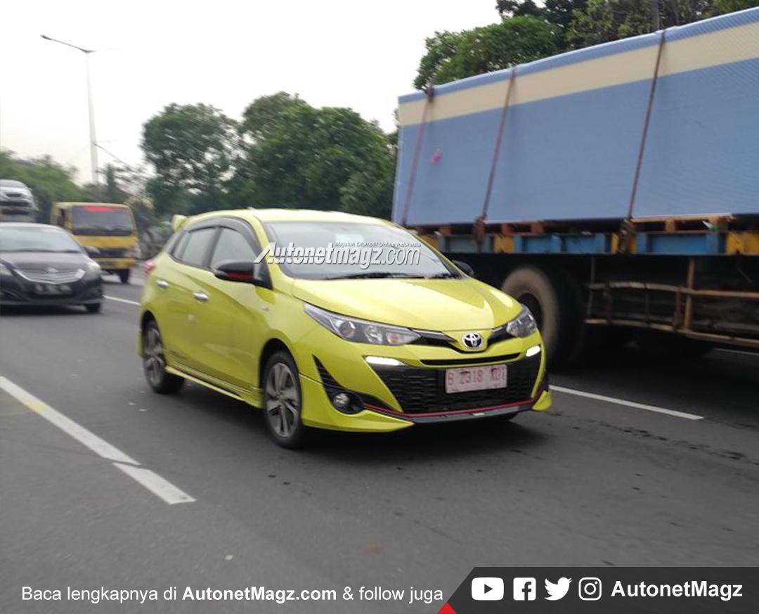 toyota yaris trd sportivo 2018 price all new camry 2019 thailand punya bodykit baru ini