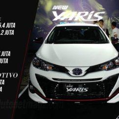 Harga New Yaris Trd 2018 Fitur Grand Avanza Toyota Facelift Meluncur Naik Tipis Autonetmagz Secara Umum Dari Tiap Varian Sendiri Kurang Lebih Sekitar Tiga Jutaan Rupiah Baik Trim E Dan G Sedangkan