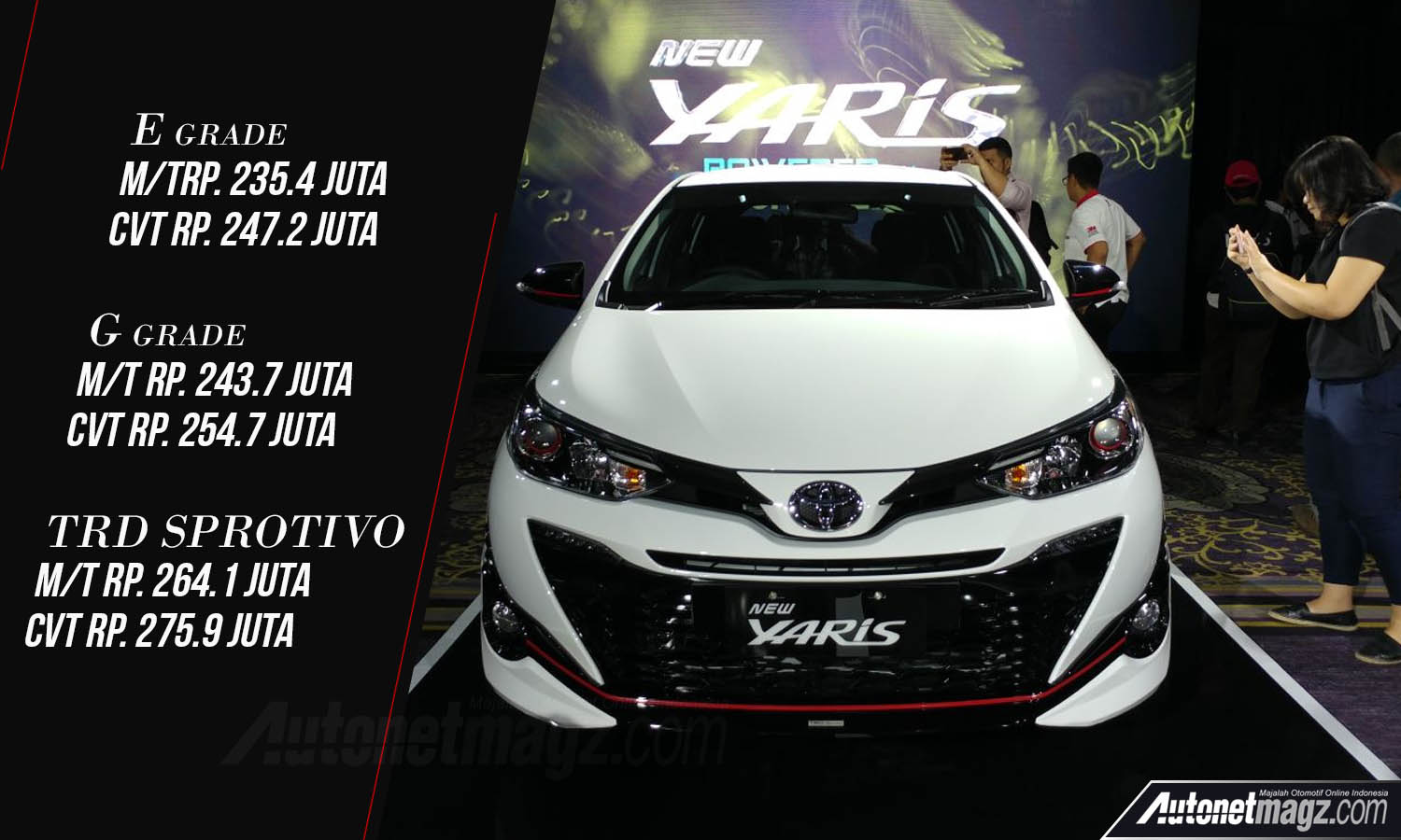 toyota yaris trd sportivo 2018 price list grand new avanza harga facelift  autonetmagz review
