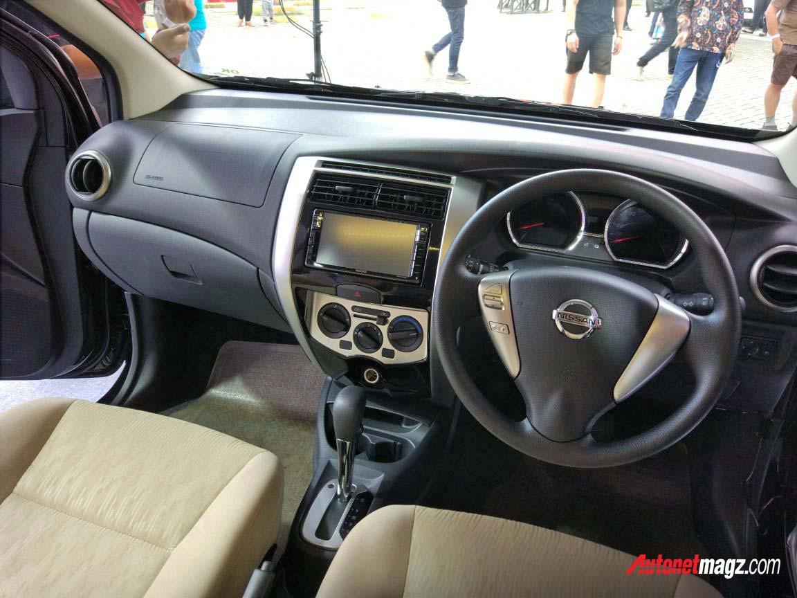 interior grand new avanza 2018 1.3 std m/t nissan livina baru  autonetmagz