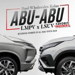 Grand New Avanza Vs Mitsubishi Xpander Beda Dengan Veloz Wholesales Toyota Rush Kelas Abu