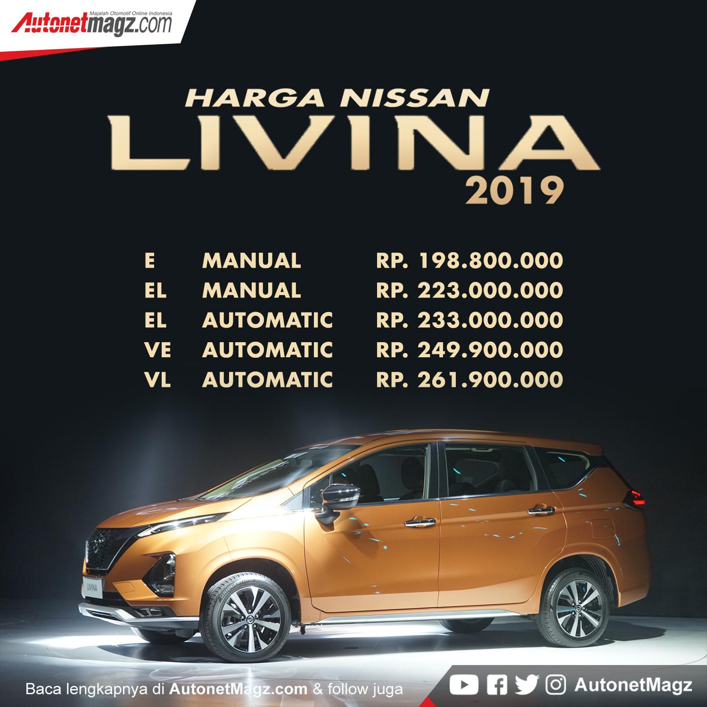 124.500.000 harga dp, jual kredit. Harga Nissan Livina 2019   AutonetMagz :: Review Mobil dan Motor Baru Indonesia