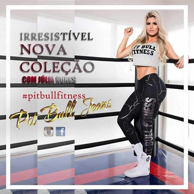 Fitness Pit Bull Jeans   Julia Nunes