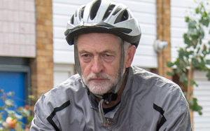 On yer bike Corbyn