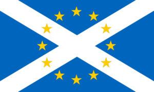 Scotland EU flag
