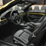 Speed Yellow BMW M4 Convertible