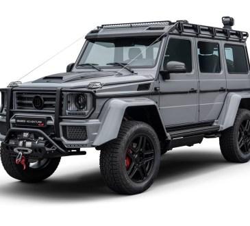 Mercedes-Benz G500 4x4² Adventure Brabus