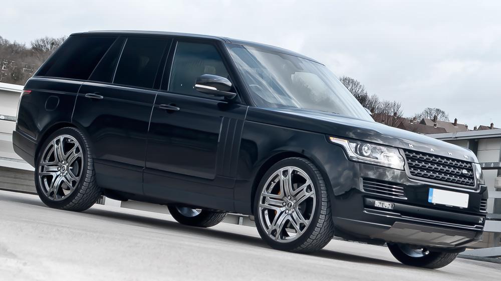 Project Kahn Range Rover Vogue Black Label Edition
