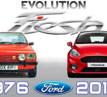 ford fiesta evolucija