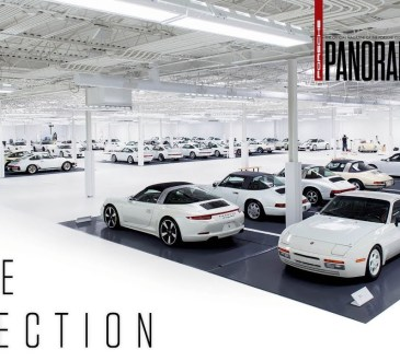 the white collection porsche