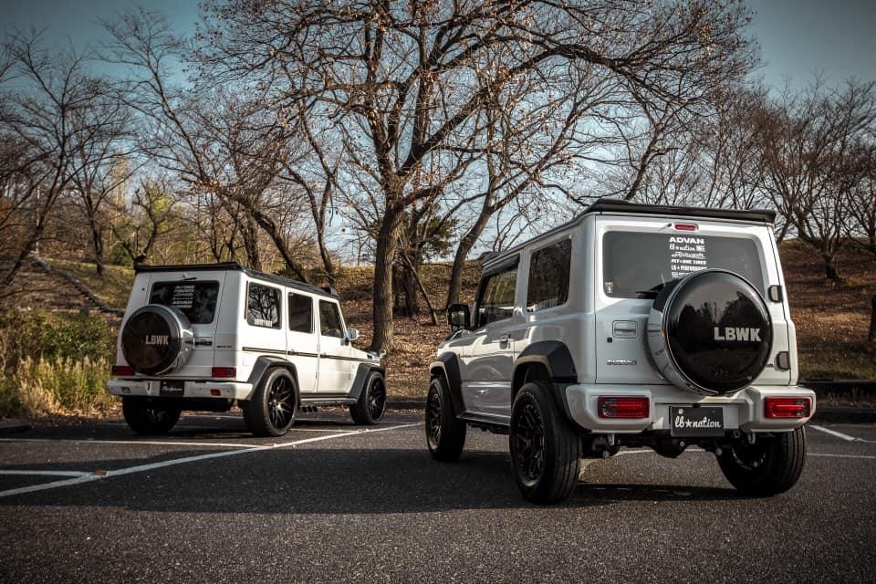 Liberty Walk Suzuki Jimny G-mini