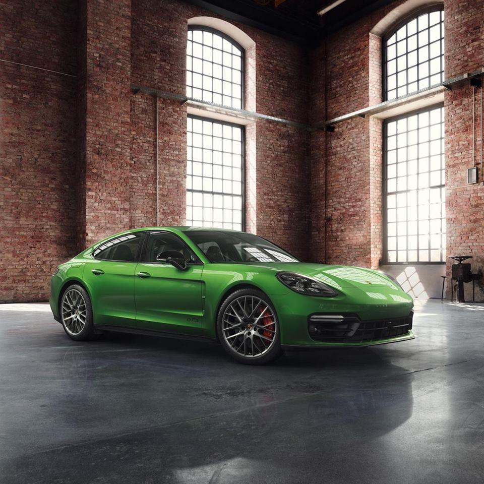 Porsche Exclusive Panamera GTS Mamba Green