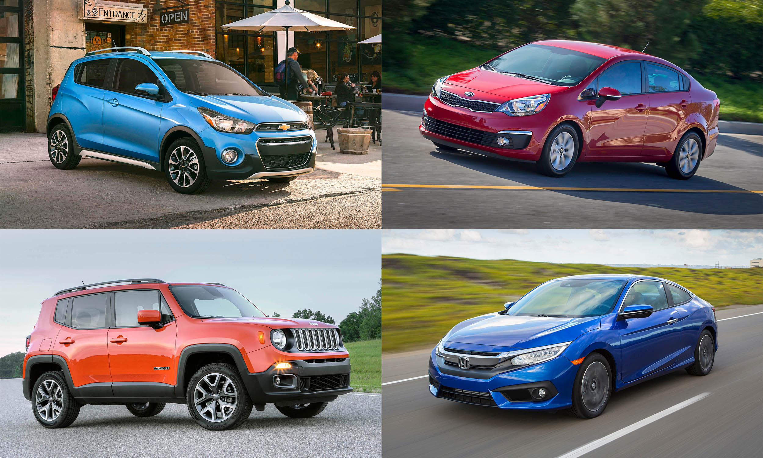 The Least Expensive New Cars