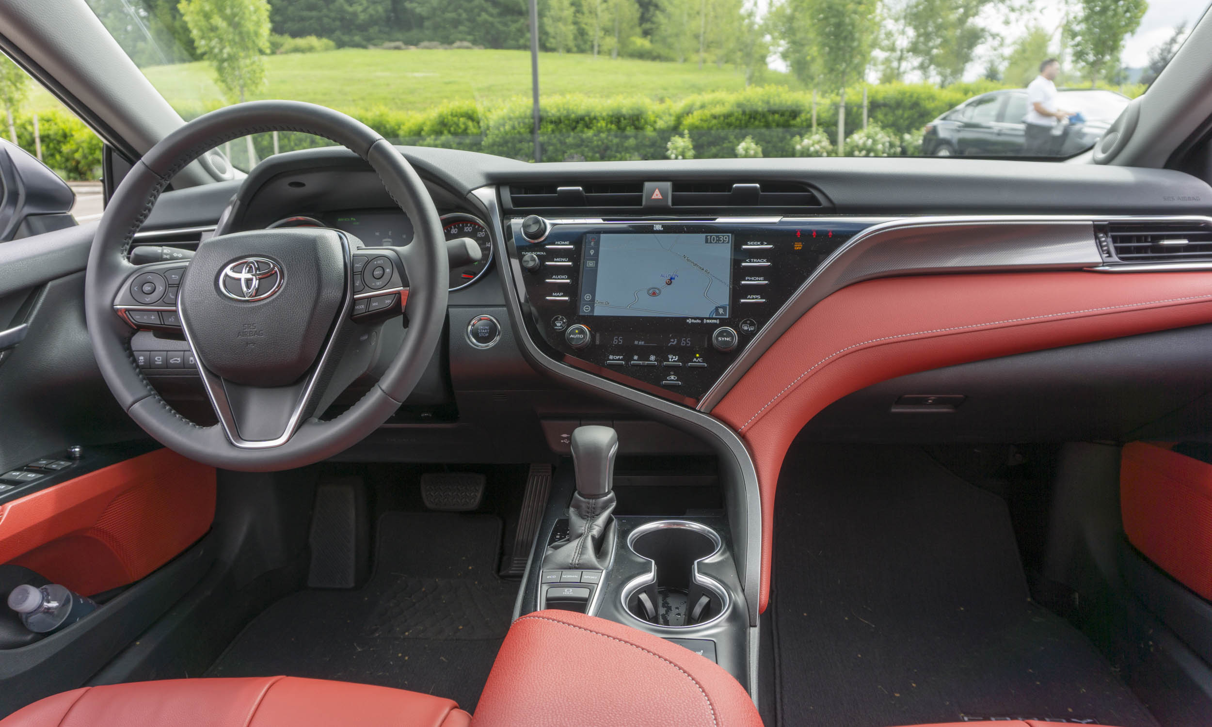 all new camry 2018 interior toyota altis first drive review autonxt perry stern automotive content experience