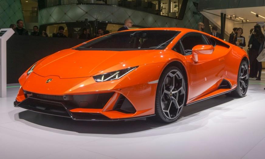2019 Geneva Motor Show: Lamborghini Huracan EVO Spyder ...