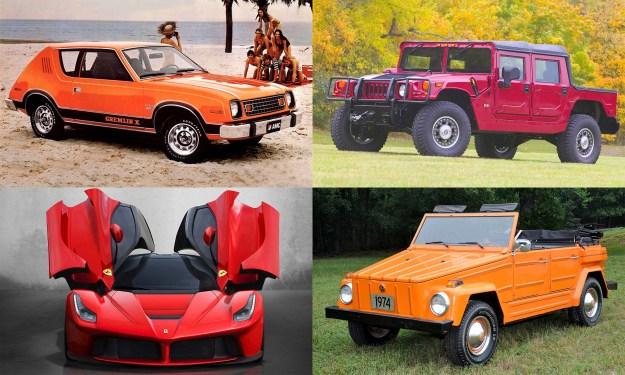 © American Motors, © Ferrari North America, © General Motors, © Volkswagen of America