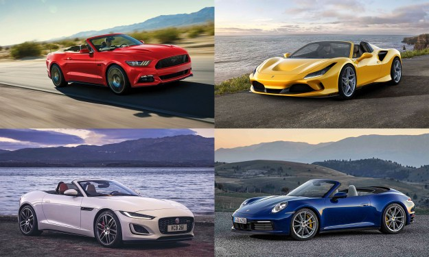© Ford Motor Company, © Jaguar Land Rover, © Ferrari North America, © Porsche Cars North America