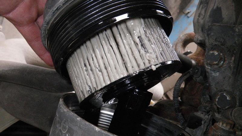 расположение топливного фильтра