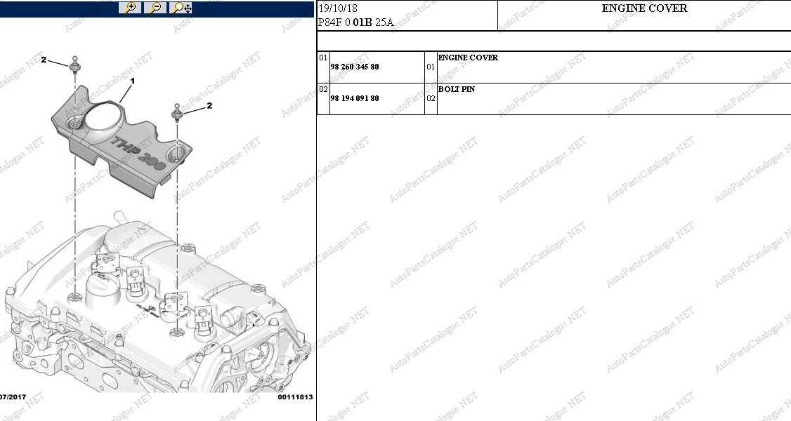 Peugeot Service Box 2021 Online Dealer Parts Catalog