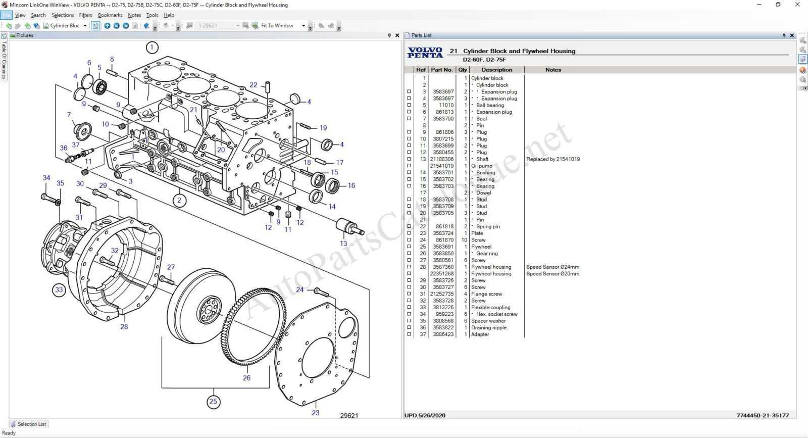 VOLVO Penta EPC [07/2021] Parts Catalog Download