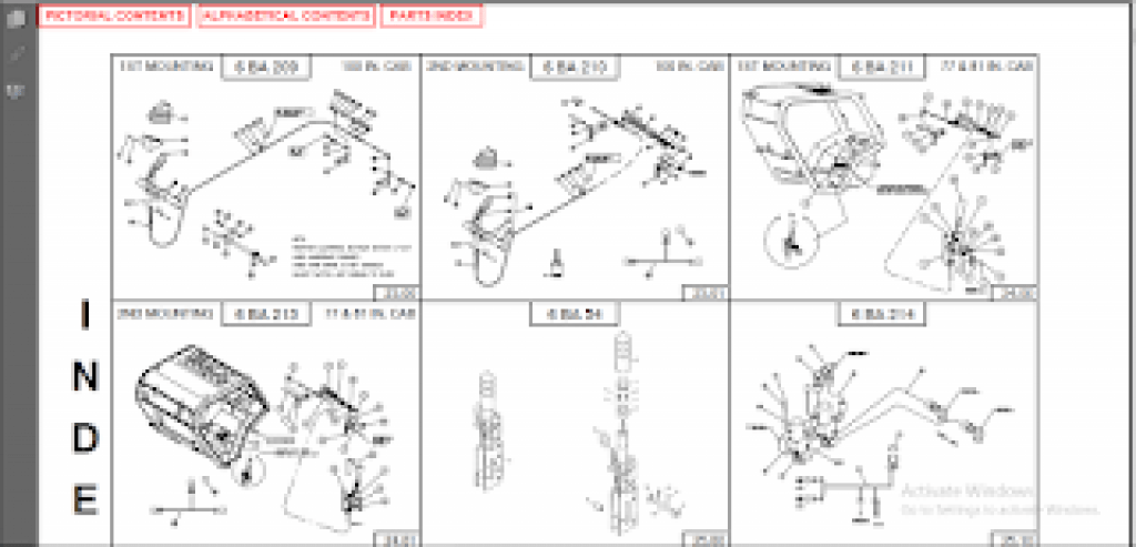 Manitou Parts Catalog , Service Manual 2016