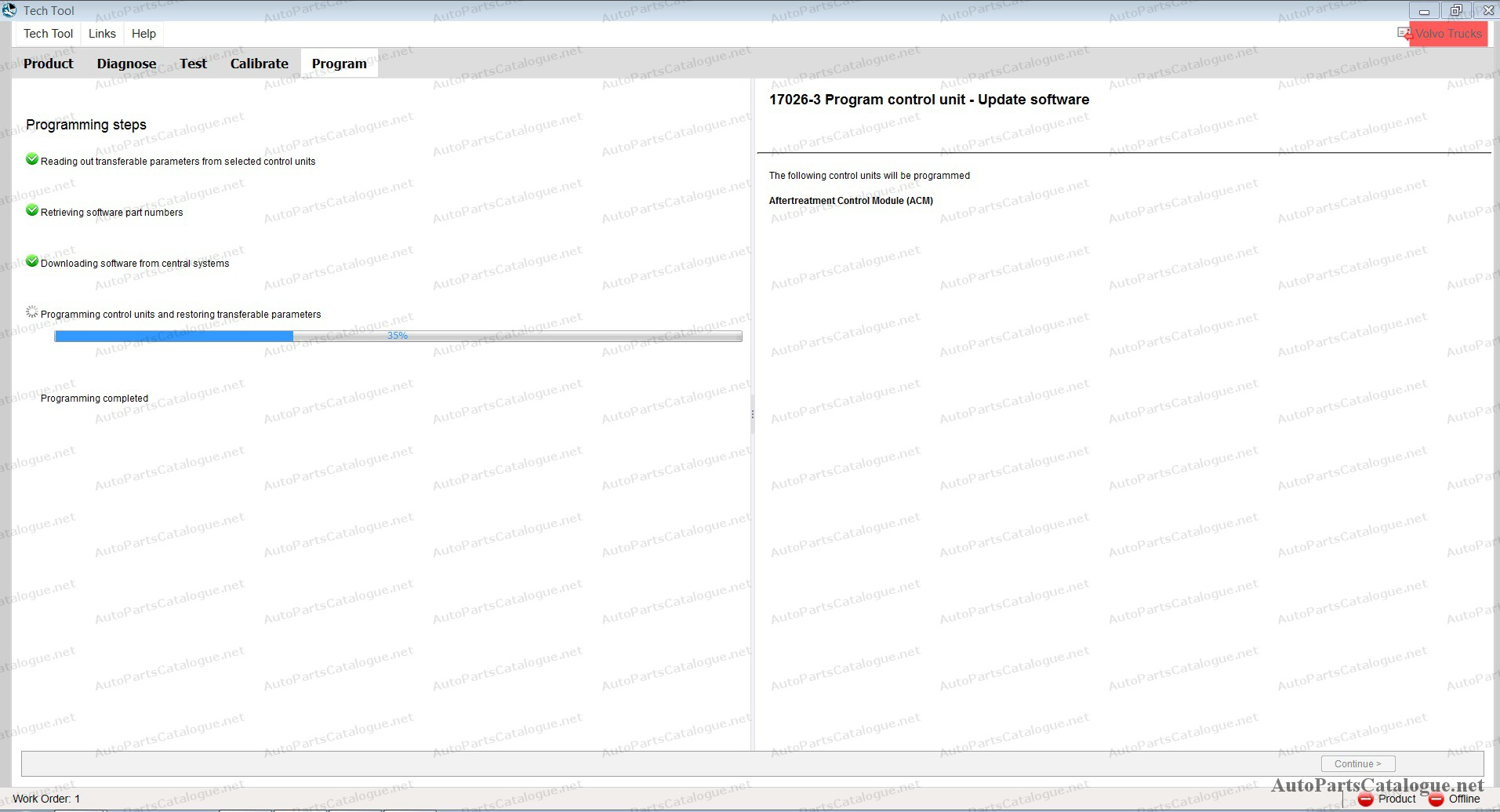 Volvo Premium Tech Tool PTT VCADS 2.7.107 [2020] Development
