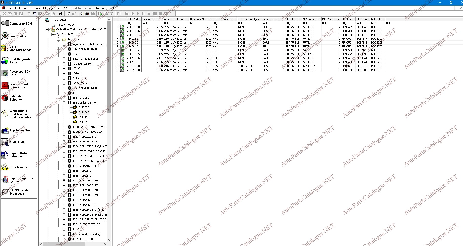 CUMMINS INSITE 8.6 PRO [2020] + ZAP-IT ECM Password Removal