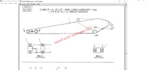 Kobelco Excavator Japan Parts Catalog PDF
