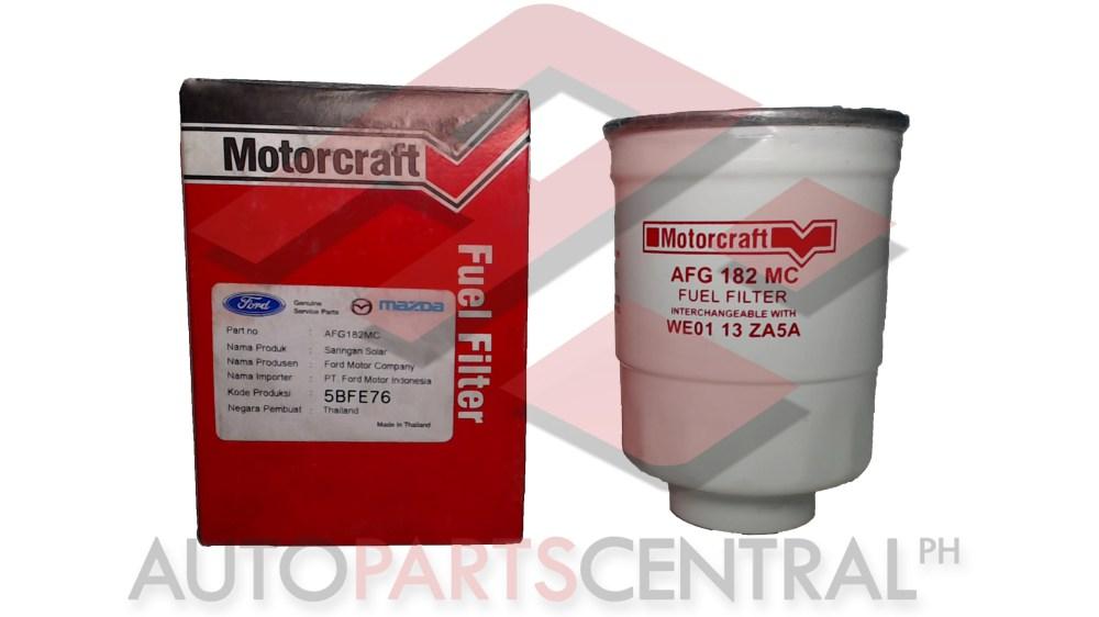 medium resolution of fuel filter motor craft afg 182mc ford everest