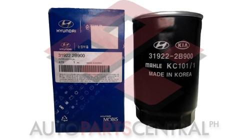 small resolution of fuel filter mobis 31922 2b900 hyundai santa fe accent