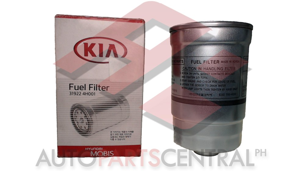 medium resolution of fuel filter 31922 4h001 hyundai grand starex