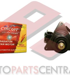 radiator fan motor circuit nissan sentra b12 1987 1991 [ 5168 x 2907 Pixel ]