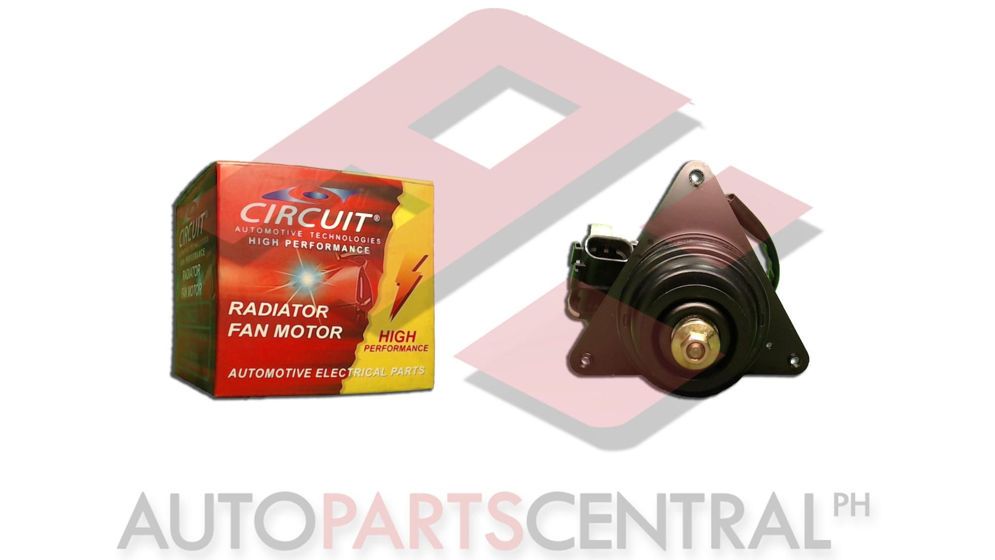 hight resolution of radiator fan motor circuit nissan sentra b12 1987 1991