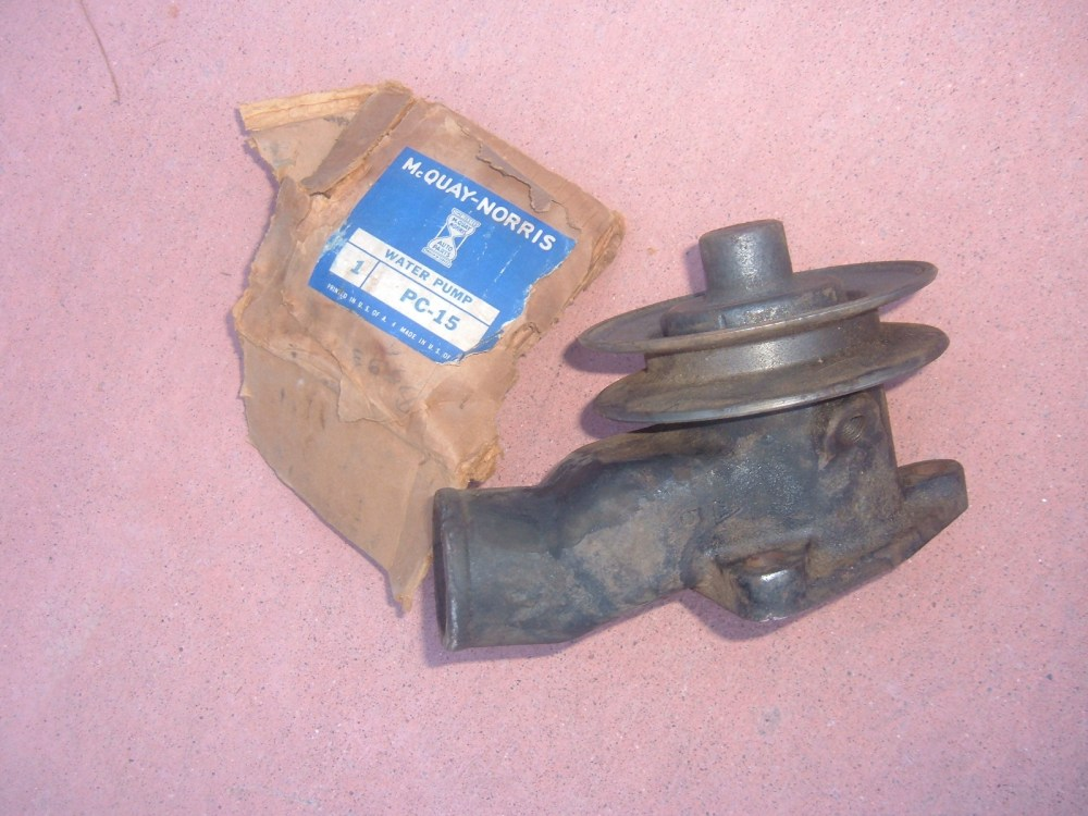 medium resolution of 1933 34 35 36 ford pass truck water pump new pc 15