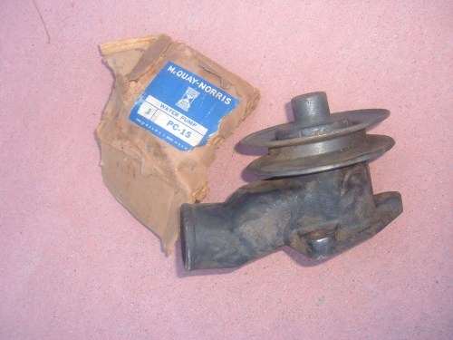 small resolution of 1933 34 35 36 ford pass truck water pump new pc 15