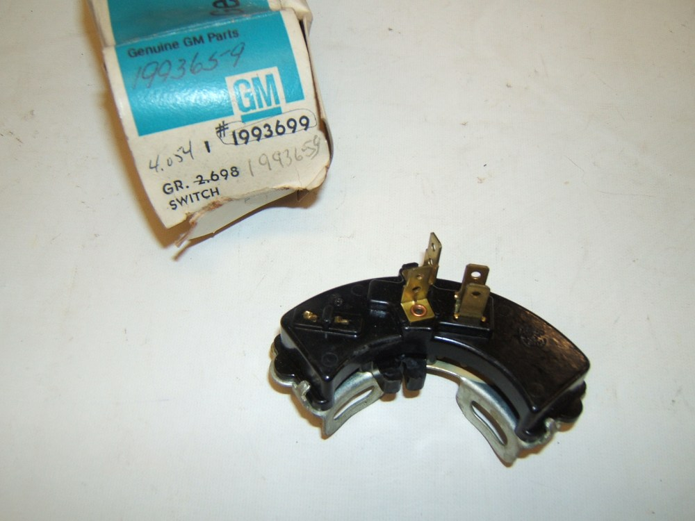 medium resolution of 1965 1966 pontiac gto and tempest neutral safety switch 1993699