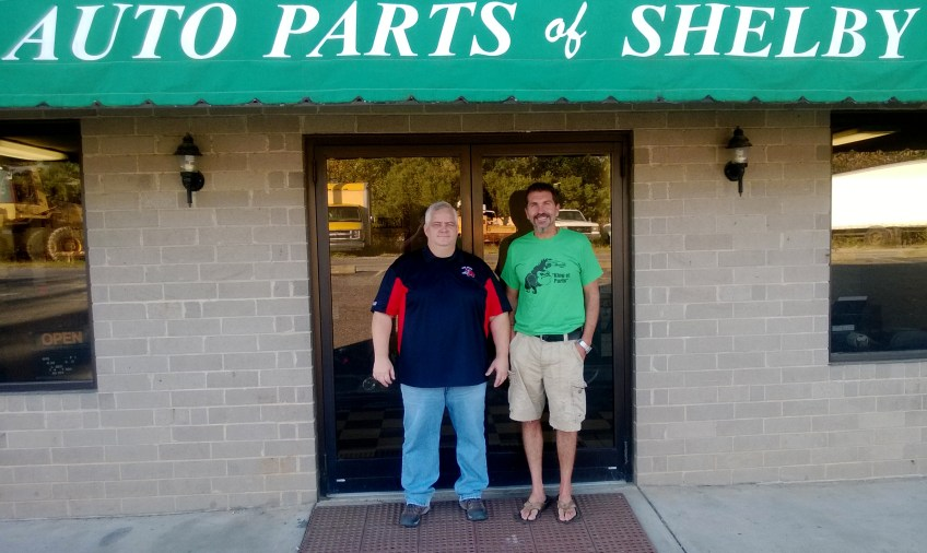 Chris Clark (General Mgr) and Jerry Allen (President)