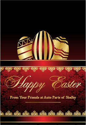 Happy Easter from Auto Parts of Shelby