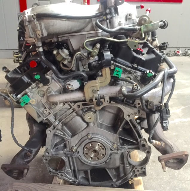 2007 nissan maxima engine diagram dodge ignition wiring 350z infinity g35 3.5l 2005 2006 rev-up 300hp manual trans vehicle | a & ...
