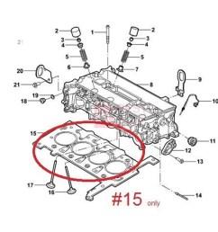 genuine oem head gasket cylinder ford ranger xl  [ 1000 x 1000 Pixel ]