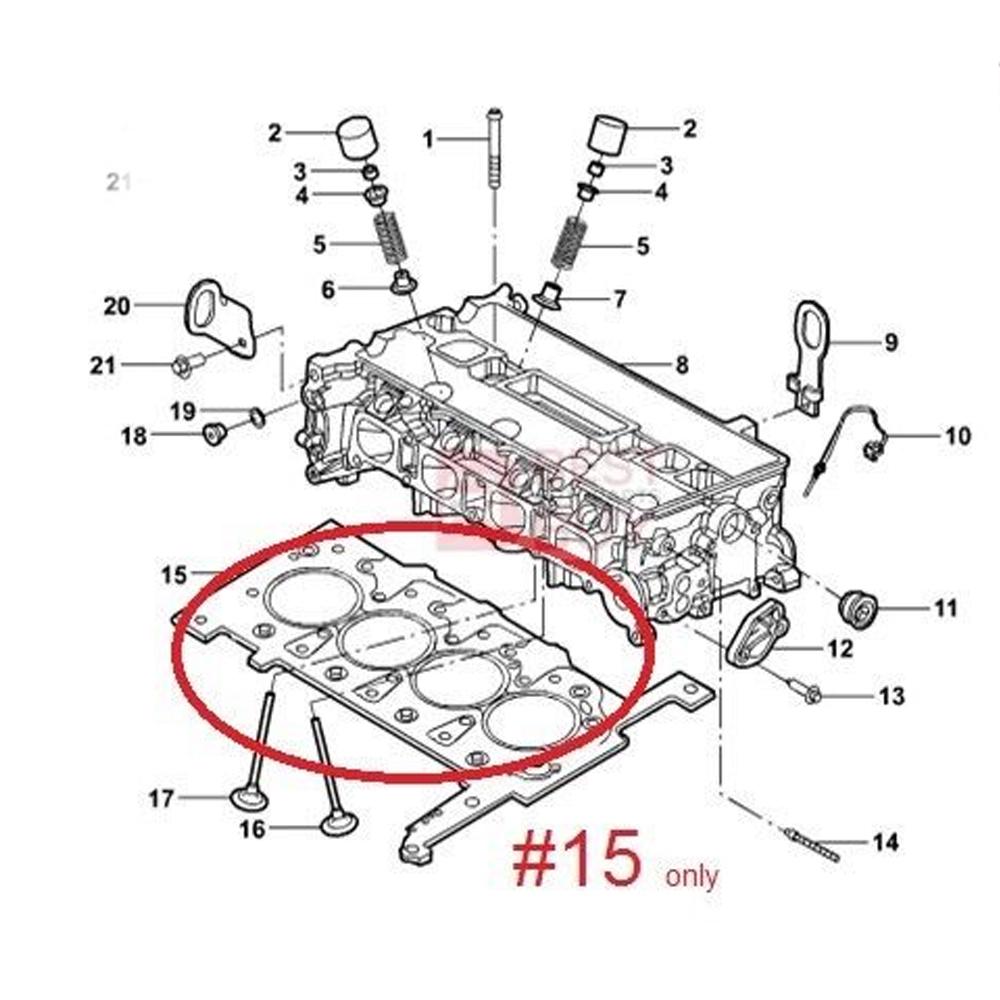 hight resolution of genuine oem head gasket cylinder ford ranger xl
