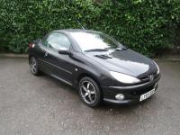 Used 2006 Peugeot 206 Convertible 2.0 Allure 2dr [dac+cc ...