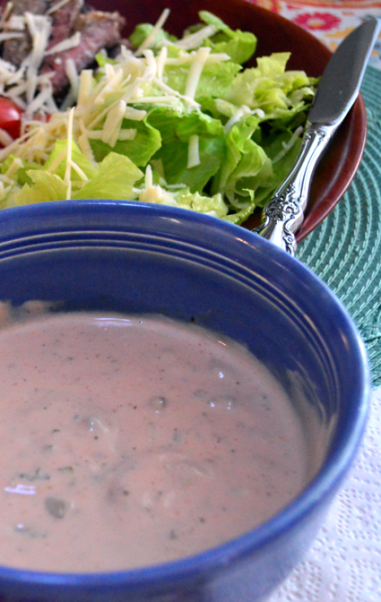 grannie geek healthy thousand island dressing