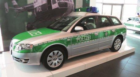 Los autos de la policía alemana, y su evolución